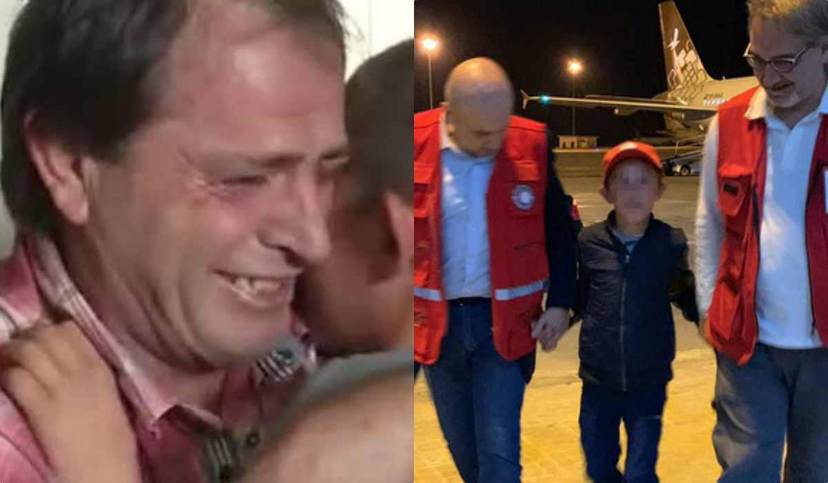 Bimbo tornato dalla Siria