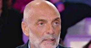Paolo Brosio perde il controllo e da uno schiaffo a carmelo abbate