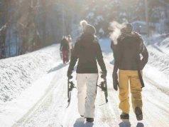 camminare in inverno