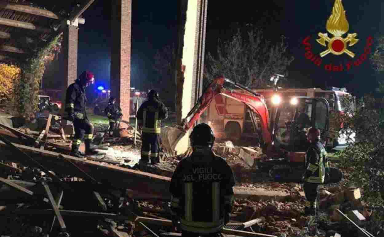Esplosione cascina Alessandria