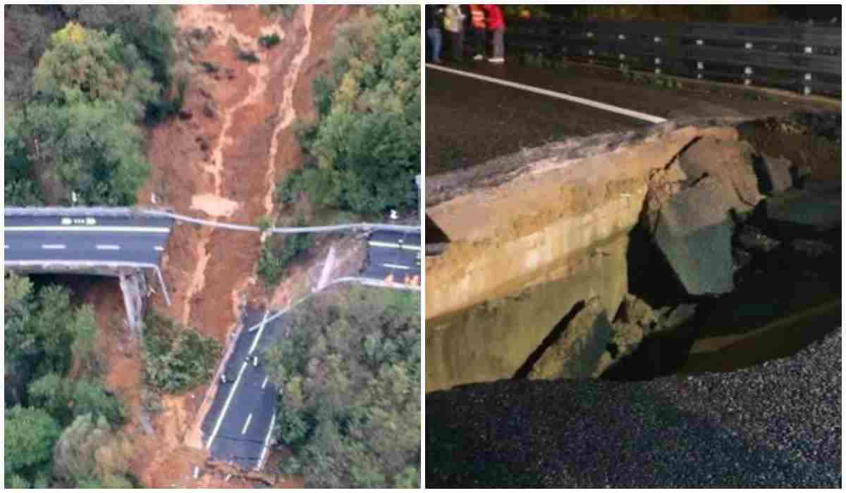 Crollo del viadotto A6