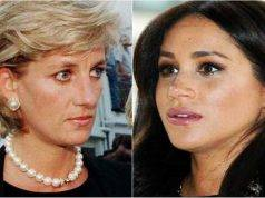 Meghan Markle sgarro a Lady Diana