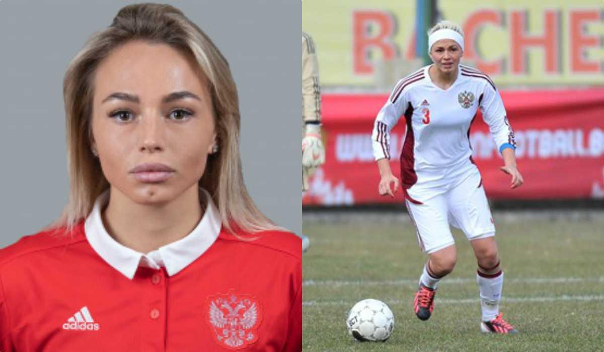 Kseniya Kvalenko sul campo di gioco