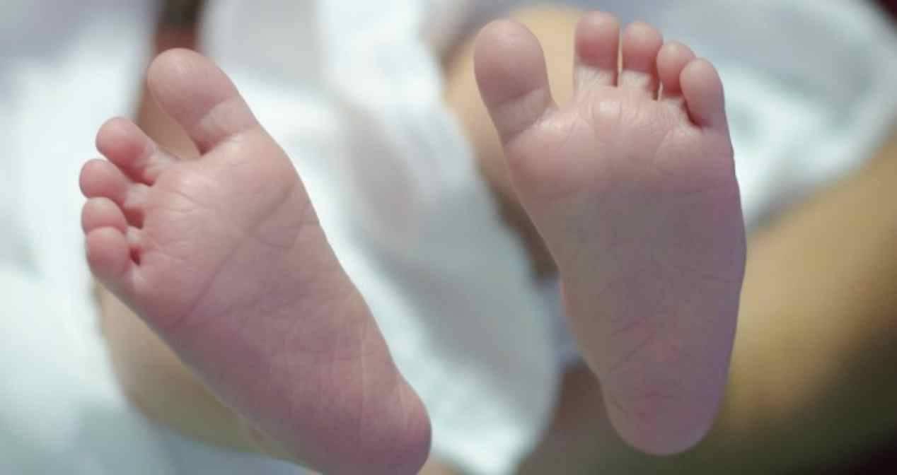 Neonata di tre mesi