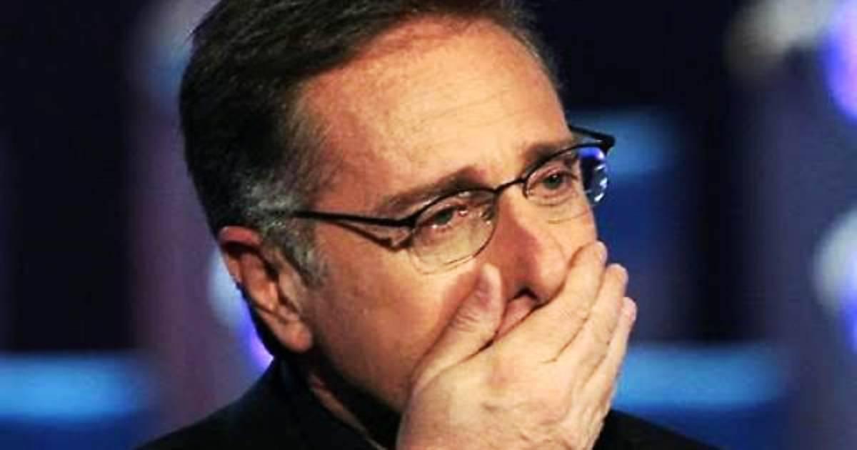 Paolo Bonolis, incidente a ciao darwin
