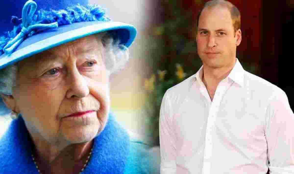 Principe William, Il gesto contro la Regina Elisabetta