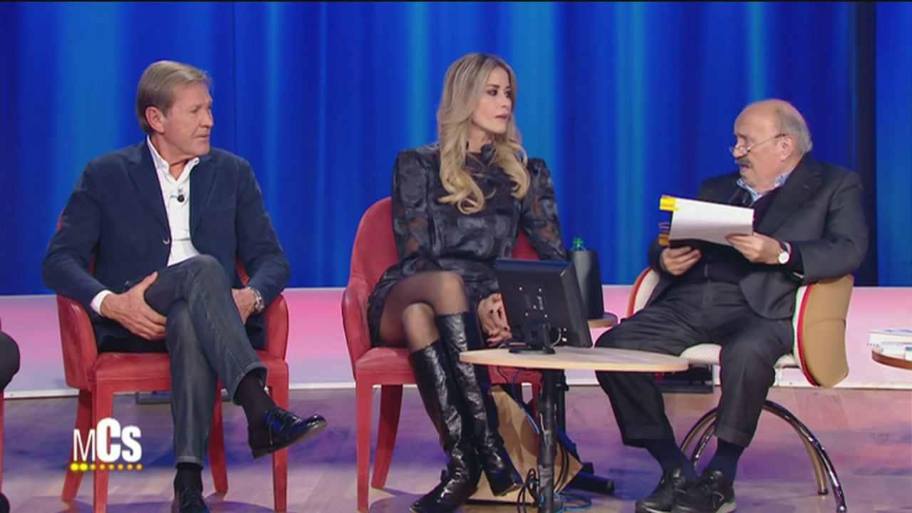 Elena Santarelli al Maurizio Costanzo Show