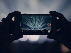 smartphone al buio