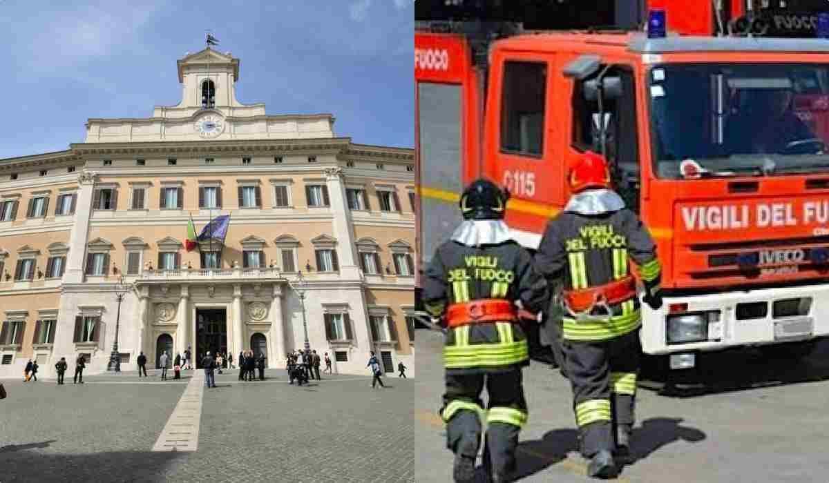 Vigili del Fuoco, sciopero per protesta il 21 novembre: oggi sit in a Montecitorio