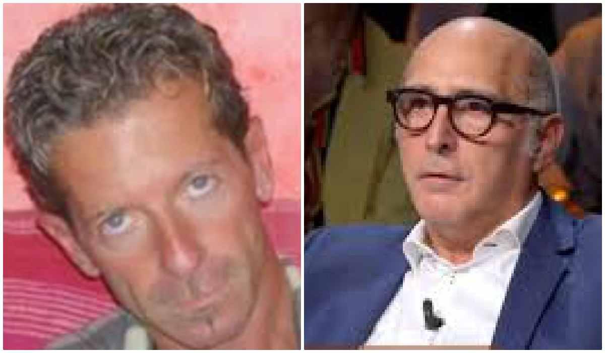 Massimo Bossetti e l'avvocato Salvagni