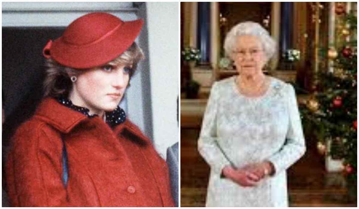 Lady Diana, Regina Elisabetta a Natale