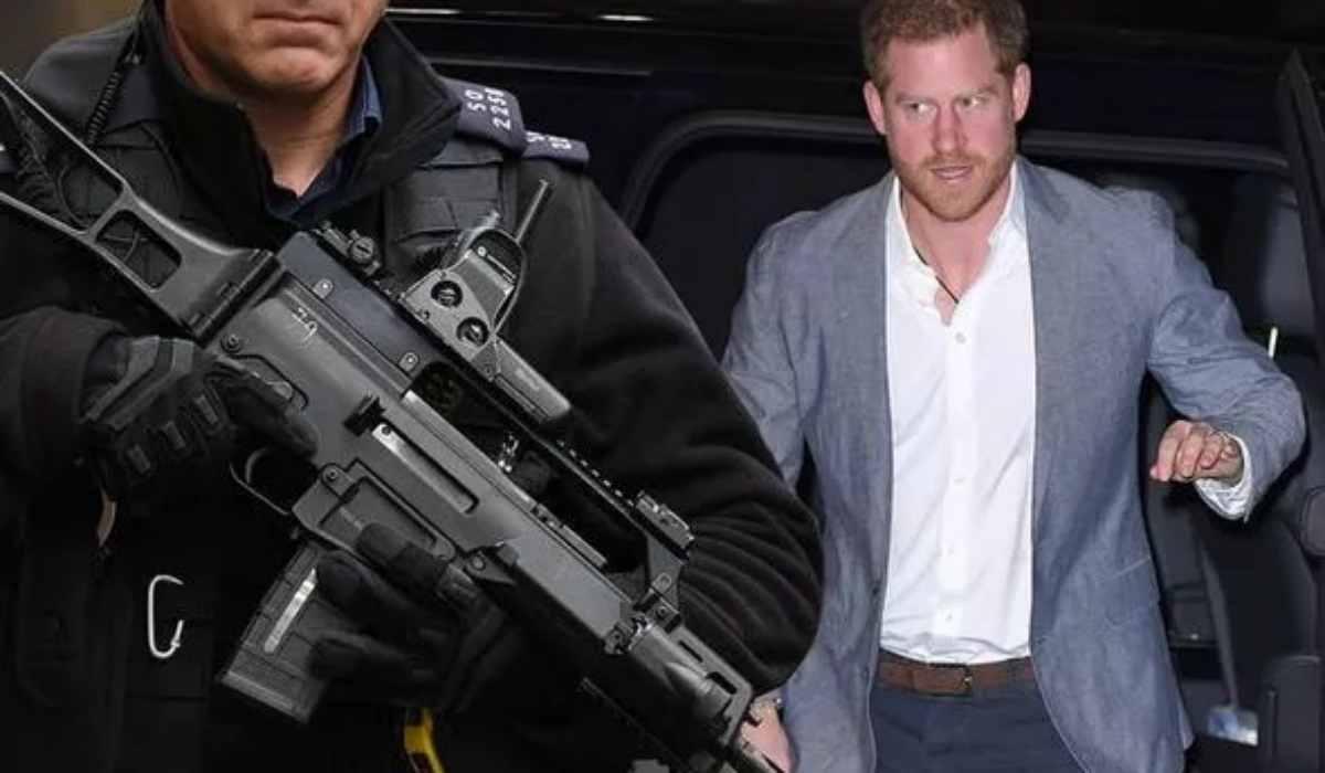 Principe Harry inseguito