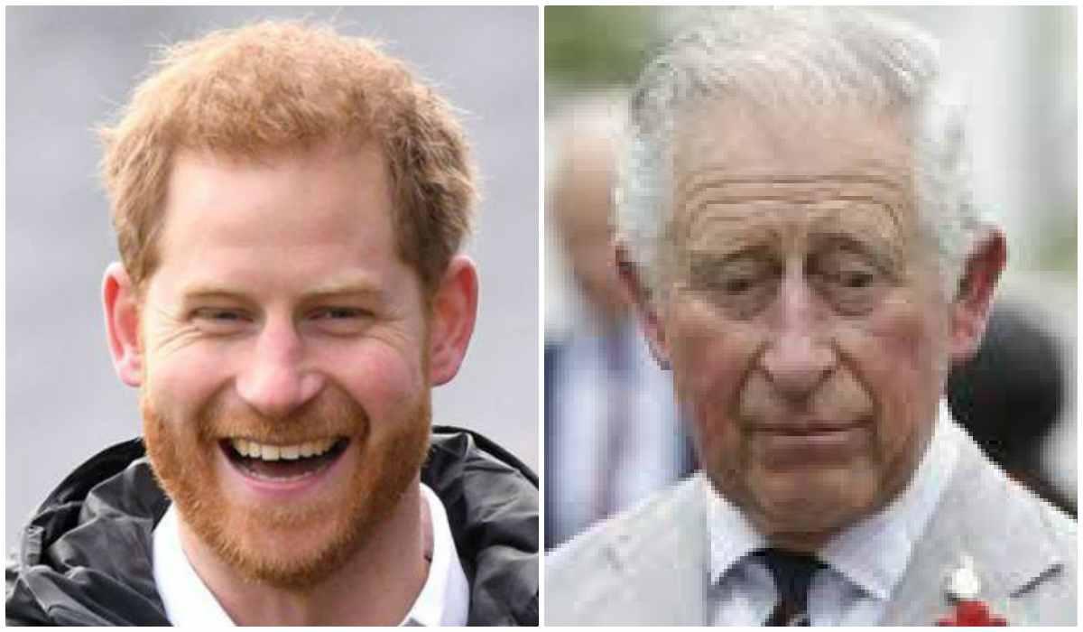 Principe Harry e Principe Carlo