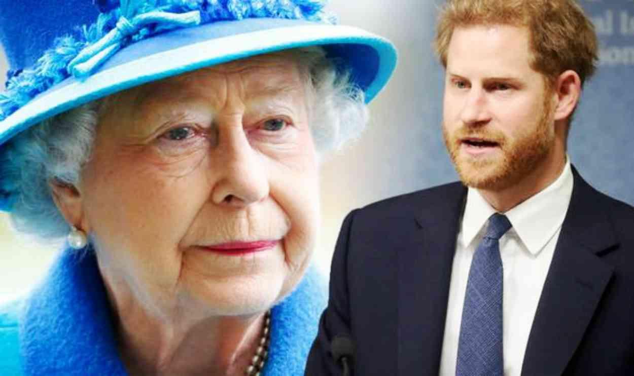 Regina Elisabetta, Harry escluso a Natale