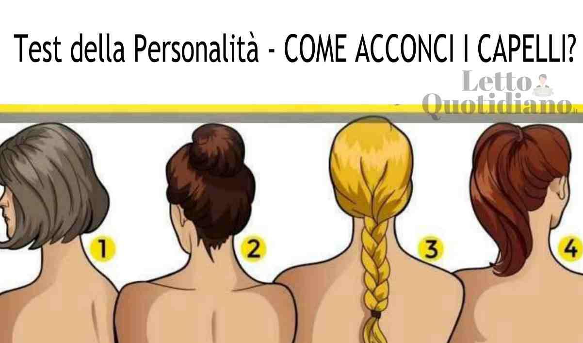 Test della personalità, come acconci i capelli? Il risultato rivela il tuo lato nascosto