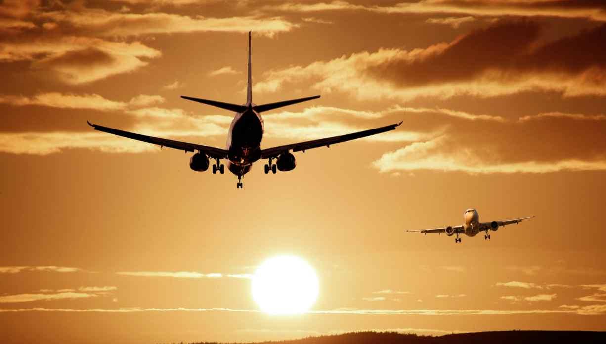 Aerei in volo