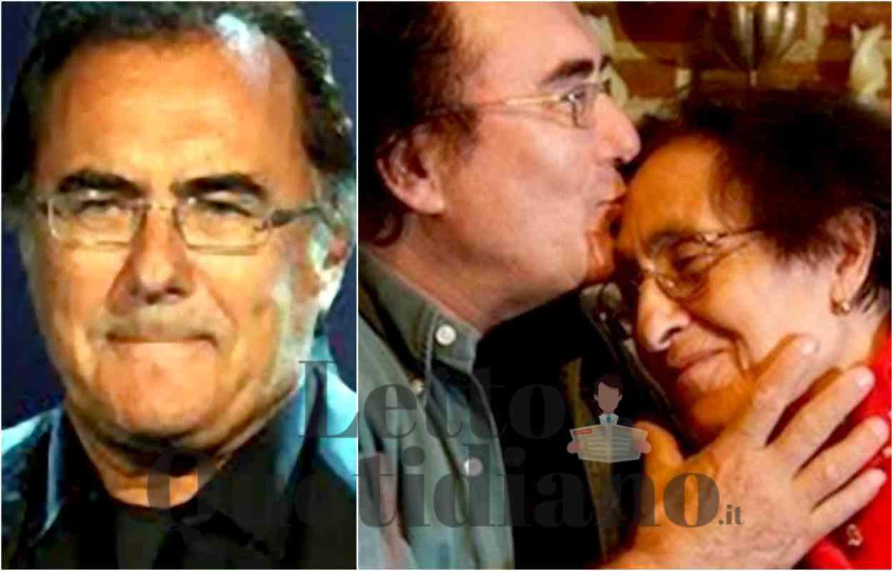 Al Bano Carrisi e Jolanda ottini morta funerale