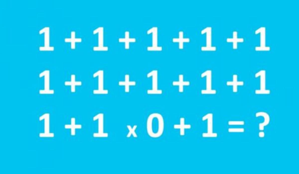 Rompicapo matematico virale