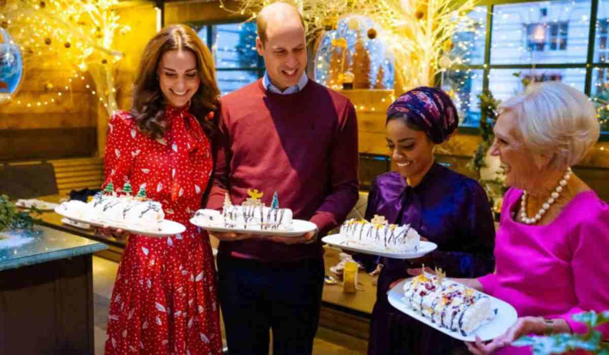 Kate Middleton allo show di Natale