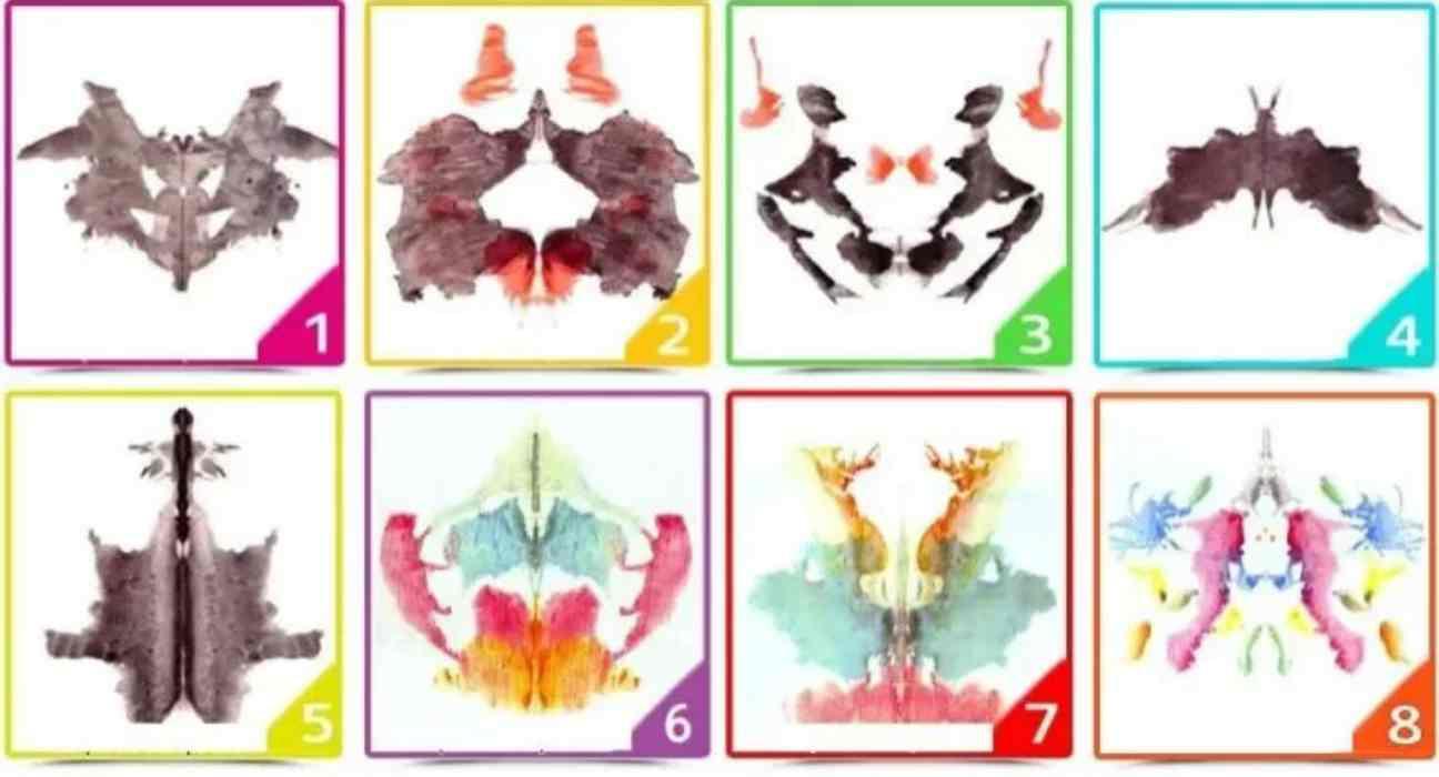Test psicologico macchie Rorschach