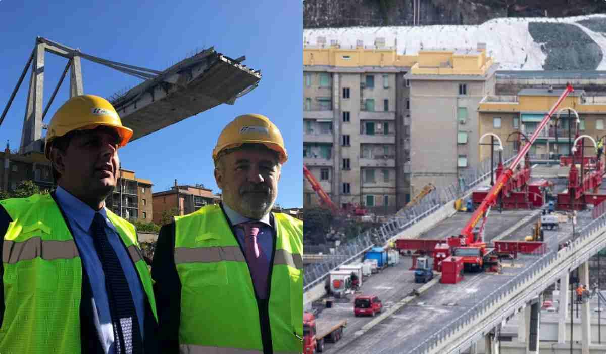 Ricostruzione ponte Morandi