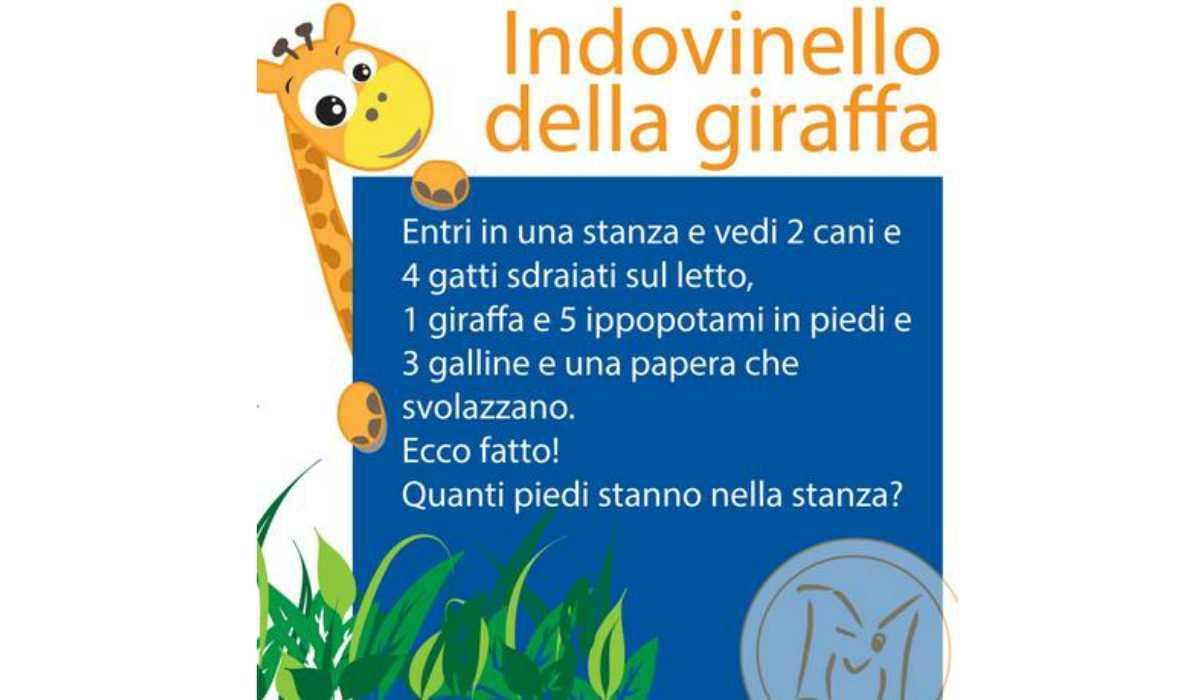 Rompicapo giraffa