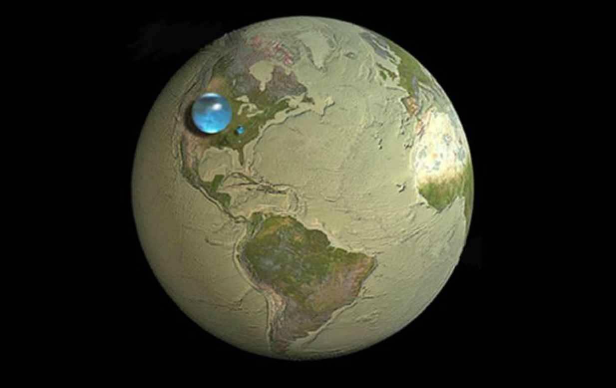 Come sarebbe la Terra senz'acqua