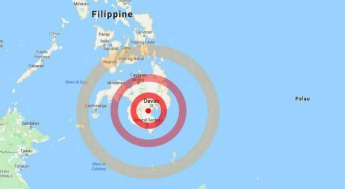 Terremoto nelle Filippine