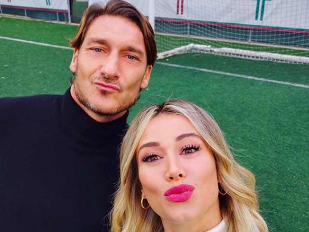 Diletta Leotta e Francesco Totti