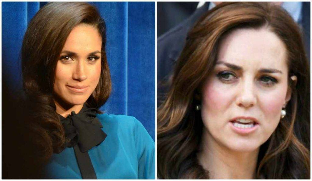 Meghan Markle e Kate Middleton litigio svelato