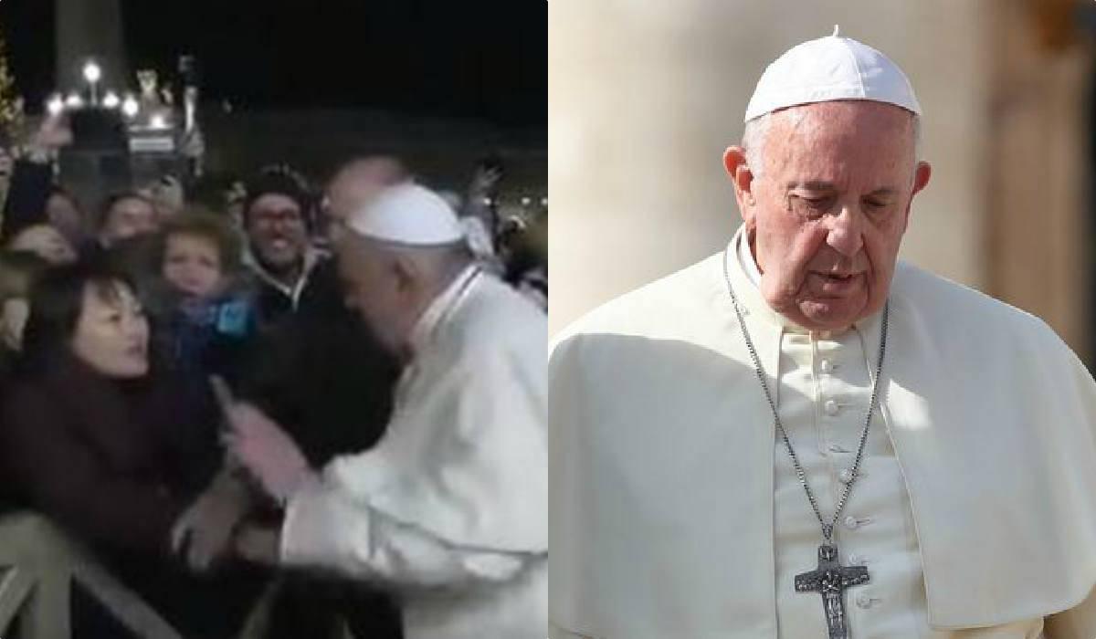 Il gesto di stizza di Papa Francesco e le scuse