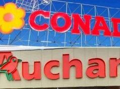 Conad Auchan, 817 licenziamenti: l'ira dei lavoratori lombardi