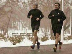 correre in inverno
