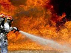 Incendi a Brescia, paura in Valtrompia e Valsabbia: Vigili del Fuoco a lavoro
