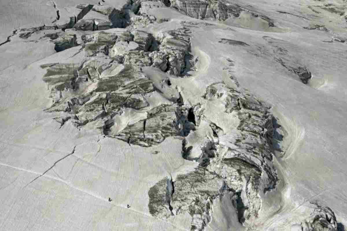 seracco del ghiacciaio
