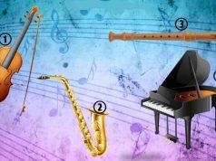 Test strumenti musicali
