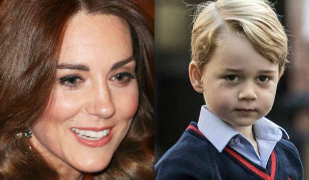 Kate Middleton e George