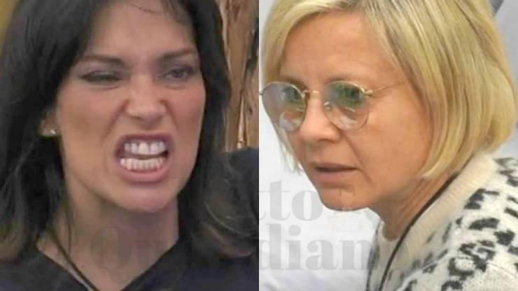 Fernanda Lessa e Antonella Elia rissa livido