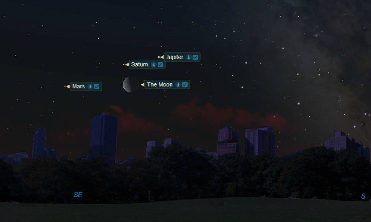 Congiunzione astrale, Giove con Saturno e Marte: come ammirare il fenomeno?