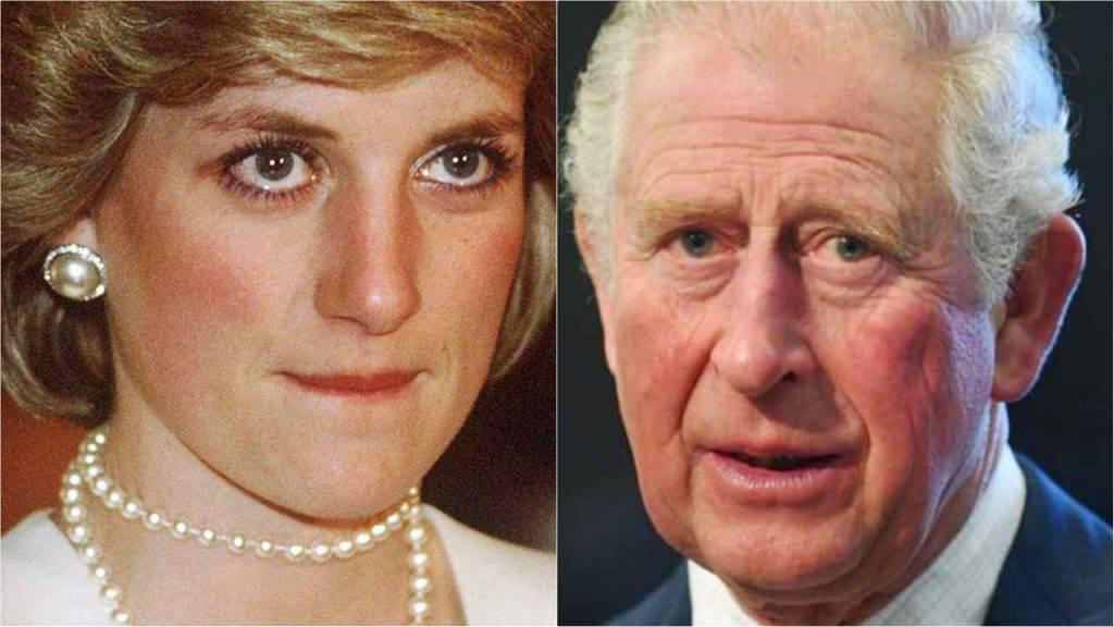 Diana, la cicatrice di Carlo