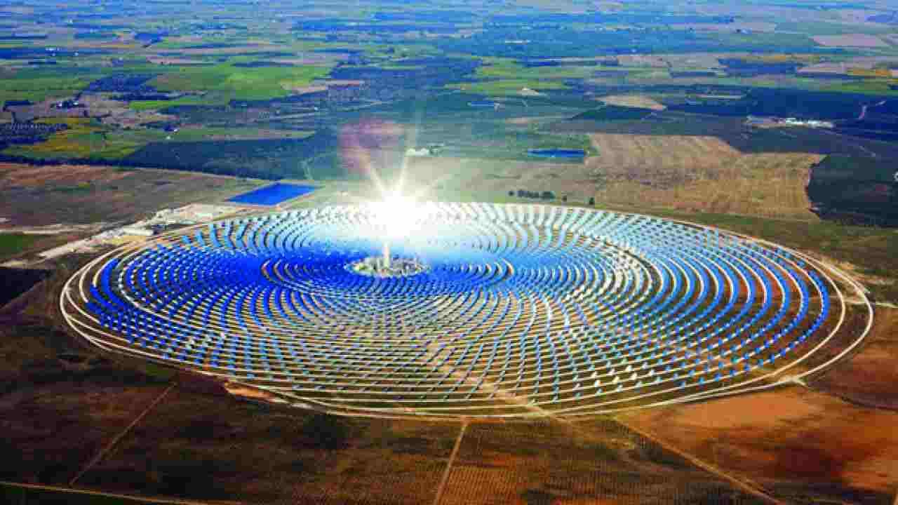 pannelli solari deserto sahara