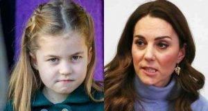 Kate mortificata per la bufera sulla figlia Charlotte