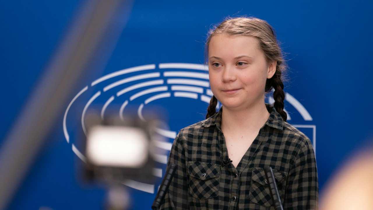 Greta Thunberg scienza