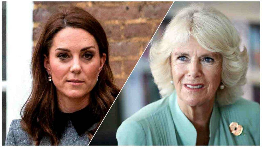 Kate Middleton Camilla Parker Bowles