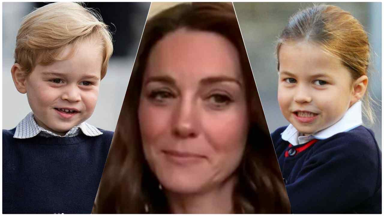 Kate Middleton George Charlotte