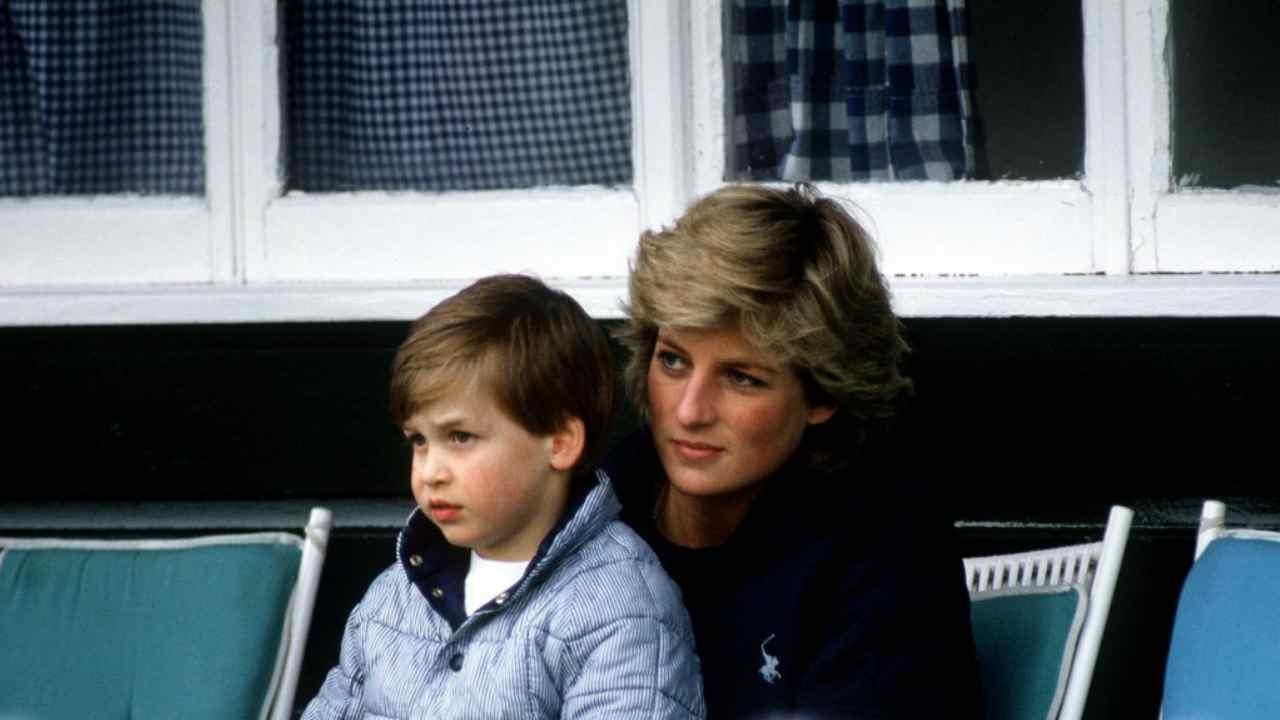 Lady Diana principe william