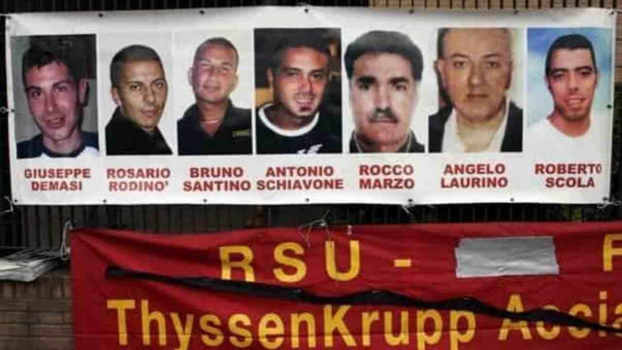 Rogo ThyssenKrupp, semilibertà per due manager: l'ira delle famiglie delle vittime