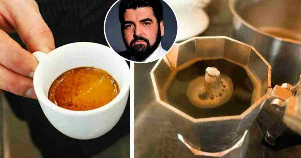 Caffè napoletano, il trucco dello chef Cannavacciuolo
