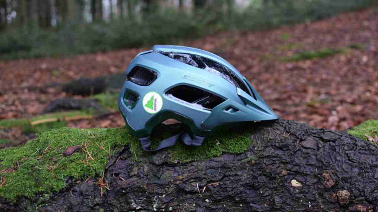 casco da bicicletta