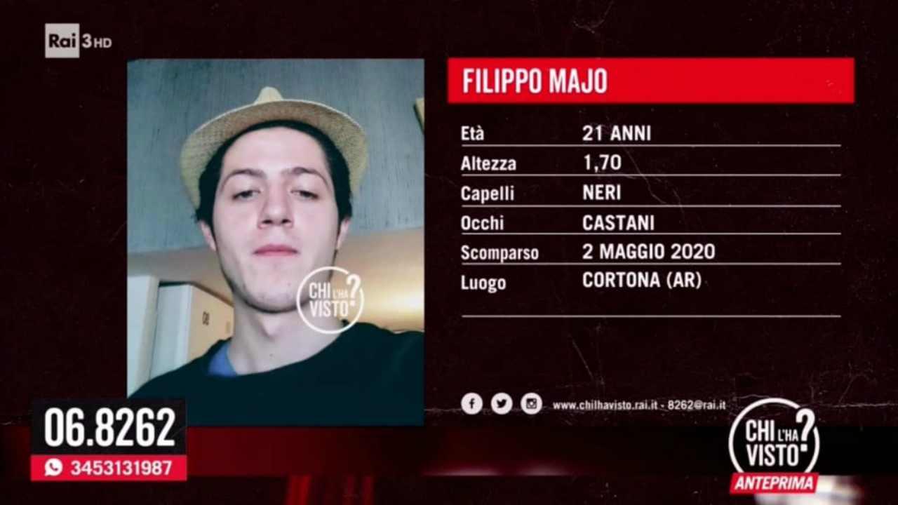 """Arezzo, Filippo Majo scomparso nel nulla. L'urlo della madre: """"Torna a casa, risolviamo tutto!"""""""
